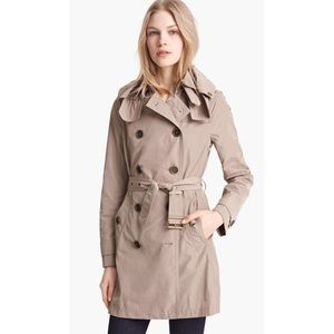 Burberry Brit 'Balmoral' Trench Coat